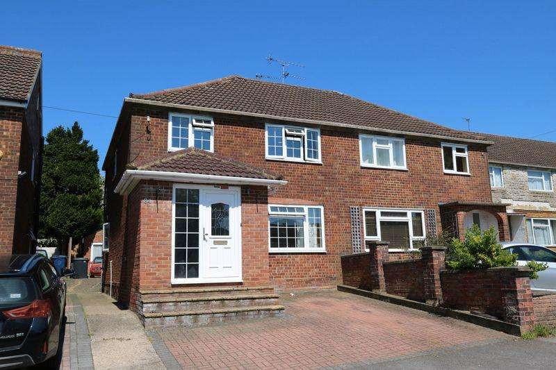 4 Bedrooms Semi Detached House for sale in Walton Drive, High Wycombe