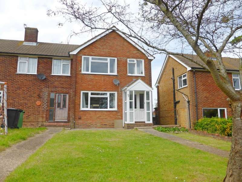 3 Bedrooms Semi Detached House for sale in Meadowlands Avenue, Eastbourne, BN22