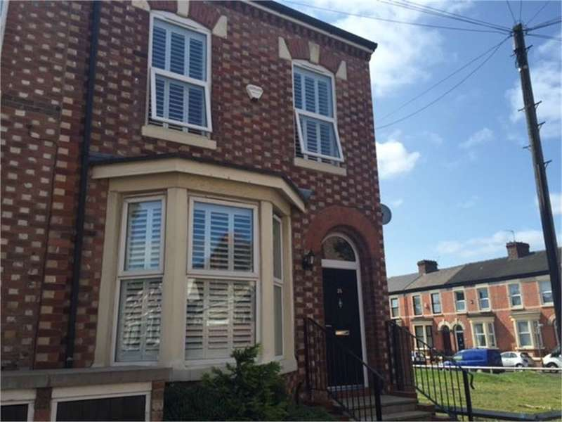 4 Bedrooms End Of Terrace House for rent in Tancred Road, LIVERPOOL, Merseyside