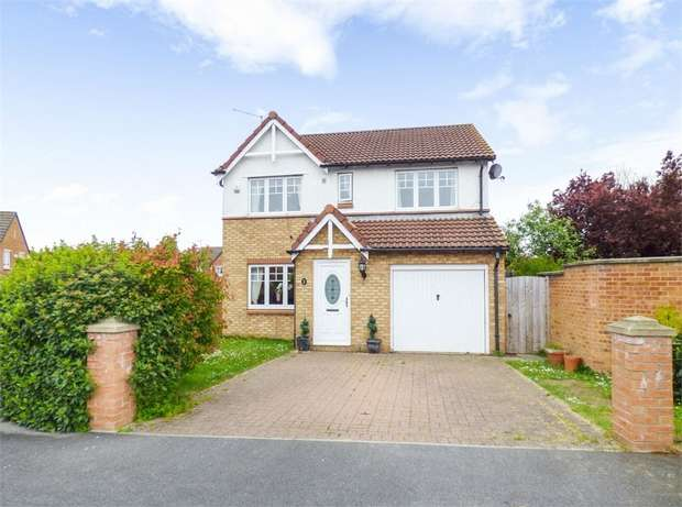 4 Bedrooms Detached House for sale in Herne Close, Redcar, North Yorkshire