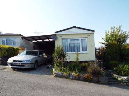 2 Bedrooms Mobile Home for sale in Luxulyan, Bodmin, Cornwall