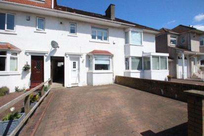 3 Bedrooms Terraced House for sale in Camp Road, Garrowhill, Glasgow, Lanarkshire