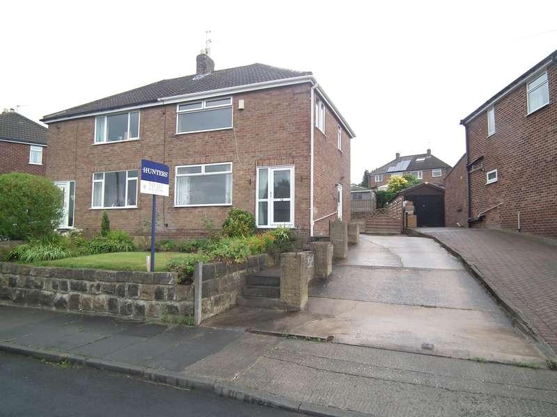 3 Bedrooms Semi Detached House for rent in Whitestone Crescent, Yeadon, Leeds, LS19 7JS