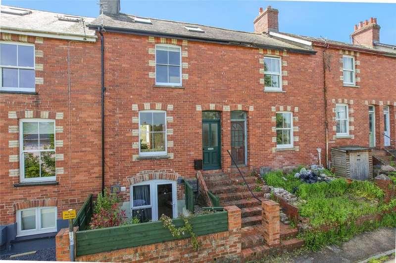 4 Bedrooms Terraced House for sale in Alexandra Terrace, Totnes, TQ9