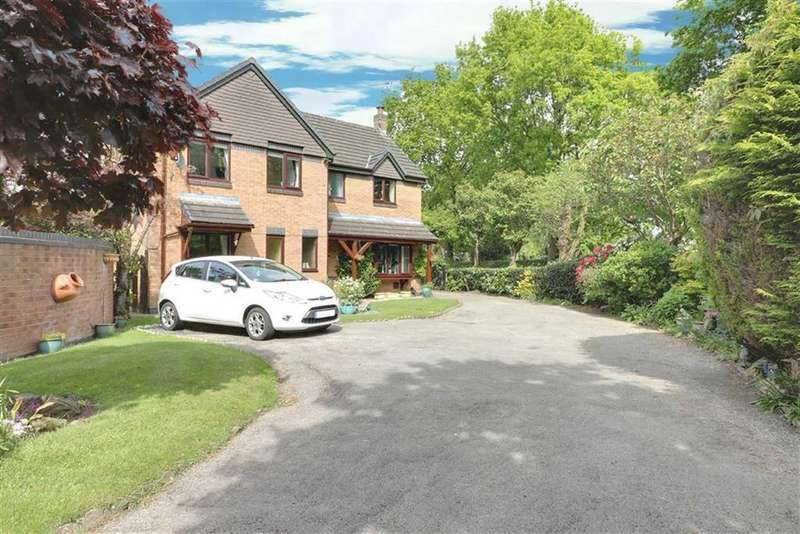 4 Bedrooms Detached House for sale in Bowkers Croft, Winterley, Sandbach