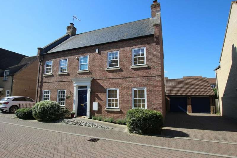 4 Bedrooms Detached House for sale in Kingsley Walk, Ely