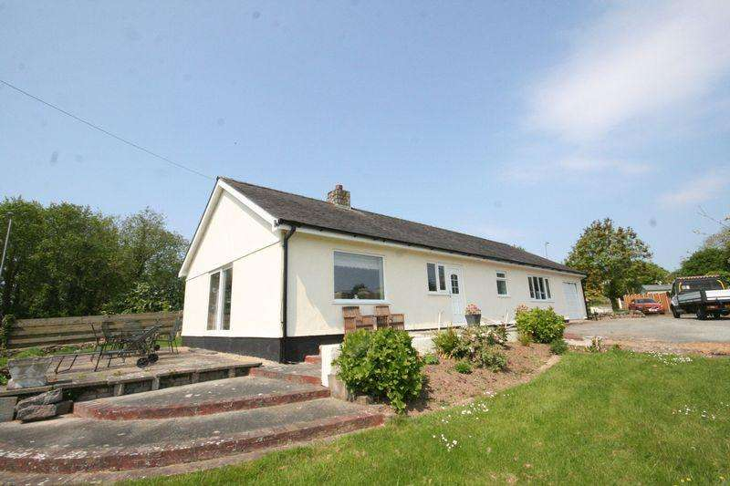 3 Bedrooms Detached Bungalow for sale in Pentraeth, Anglesey