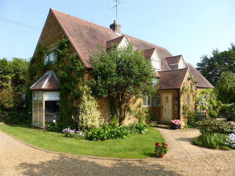 4 Bedrooms Detached House for sale in Manor Farm Lane, Balscote, Banbury, Oxfordshire, OX15