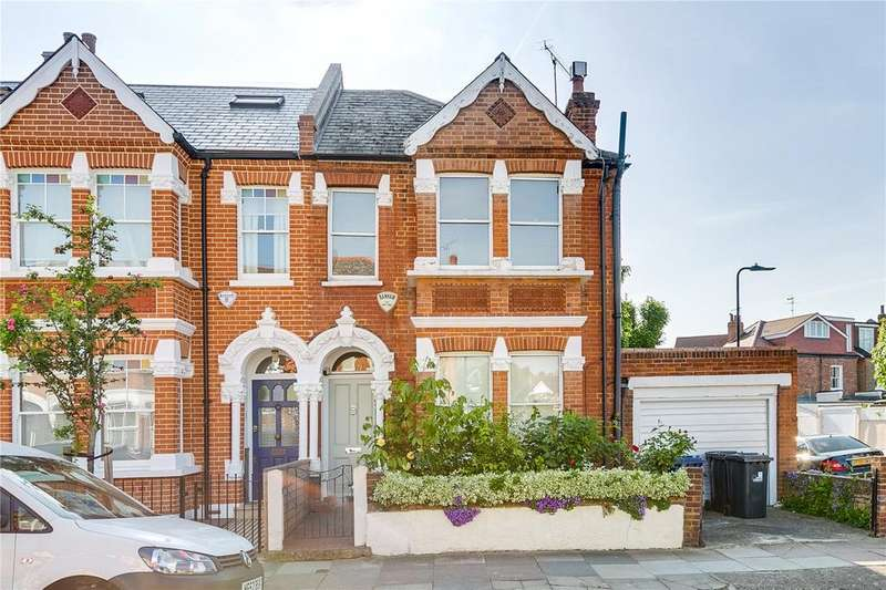 3 Bedrooms End Of Terrace House for sale in St. Albans Avenue, Chiswick, London