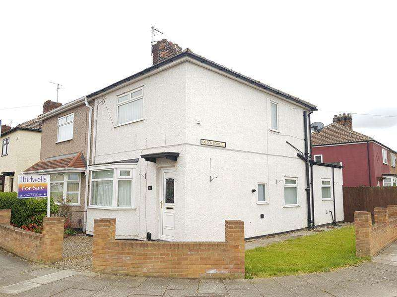 2 Bedrooms Semi Detached House for sale in Merlin Road, Boyds Estate