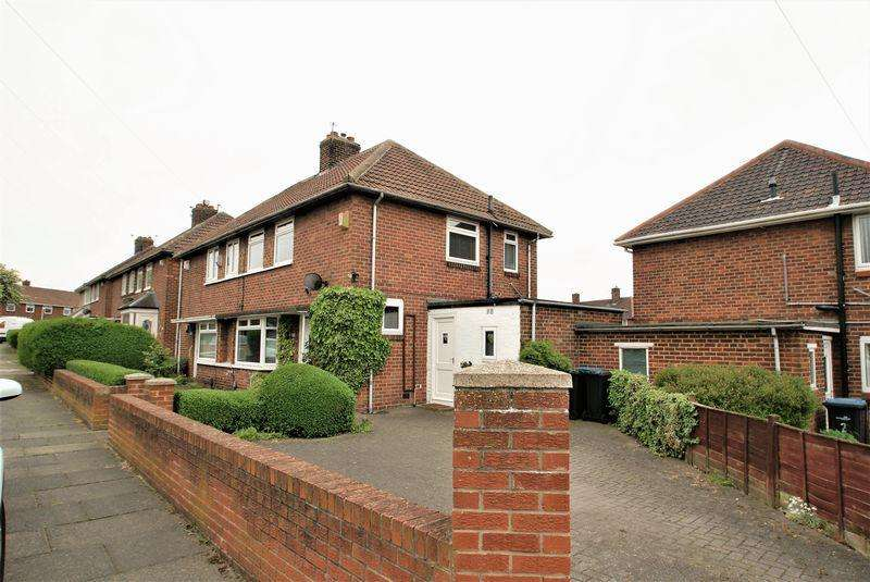 2 Bedrooms Semi Detached House for sale in Barden Road, Middlesbrough