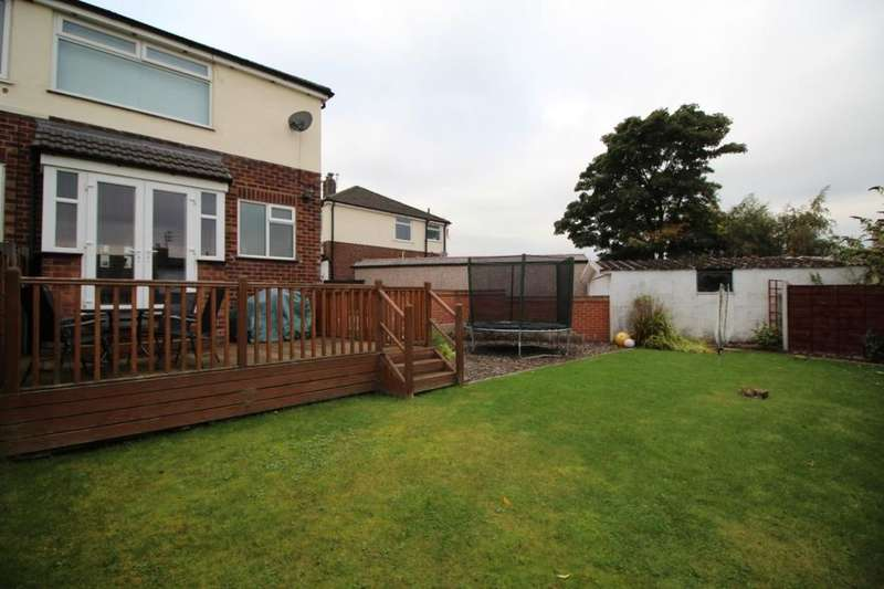 3 Bedrooms Semi Detached House for sale in Saxon Close, Bury, BL8