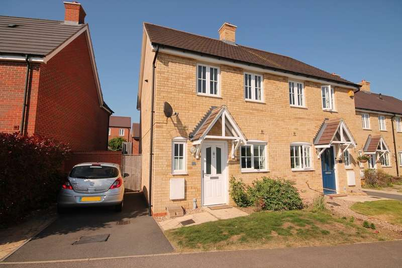 2 Bedrooms Semi Detached House for sale in Fiona Way, Bedford, MK41