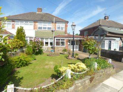 3 Bedrooms Semi Detached House for sale in Rowan Drive, Kirkby, Liverpool, Merseyside, L32