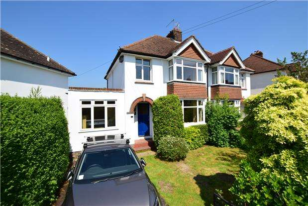 3 Bedrooms Semi Detached House for sale in Ravenswood Avenue, TUNBRIDGE WELLS, TN2 3SG