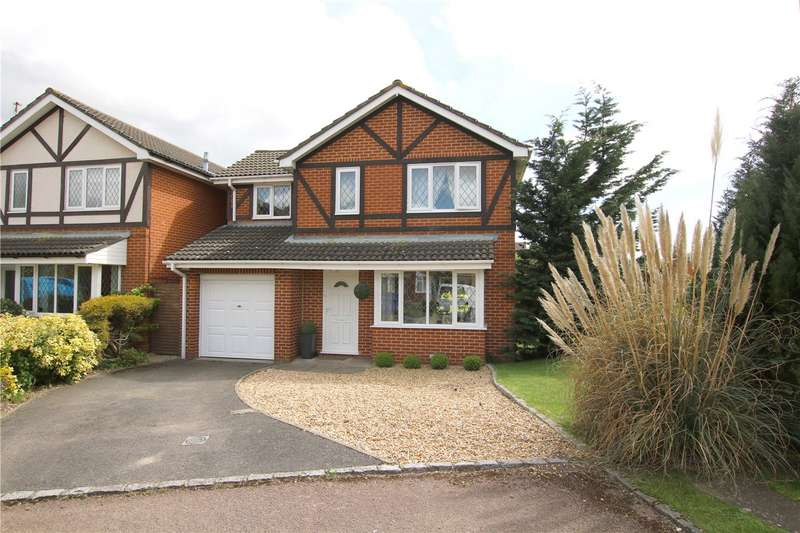 4 Bedrooms Detached House for sale in Merrifield Close, Lower Earley, Reading, Berkshire, RG6
