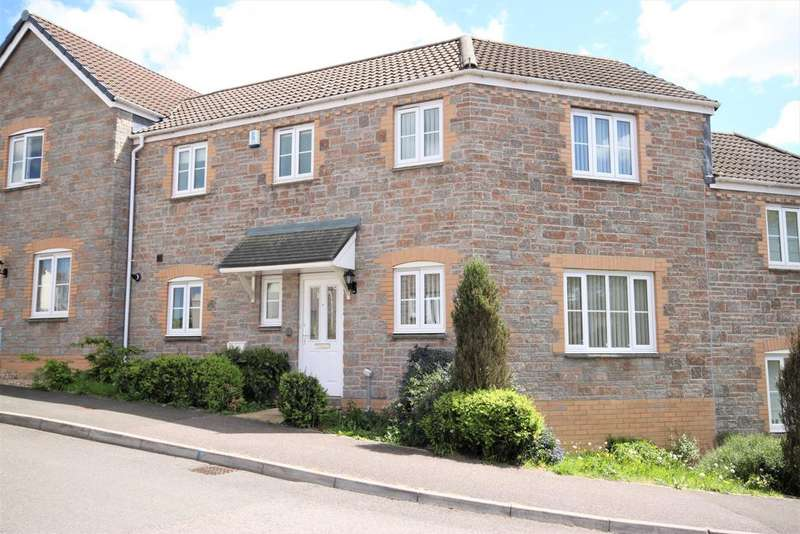 3 Bedrooms Terraced House for sale in Raleigh Drive, Cullompton EX15