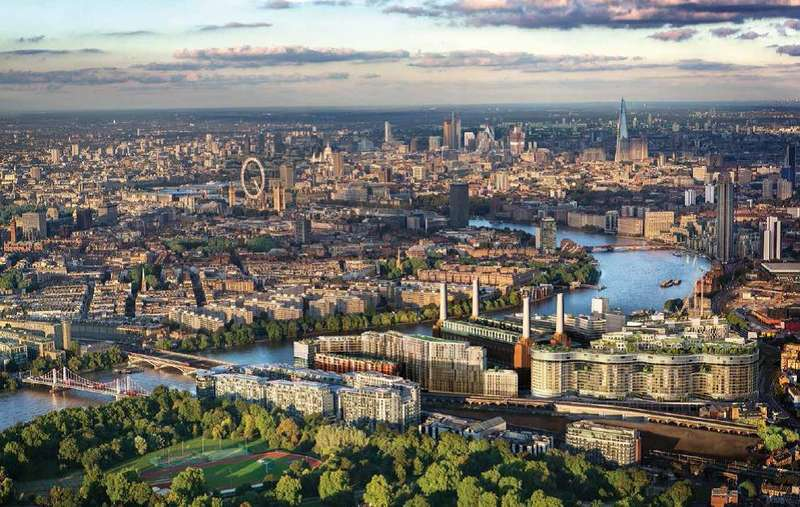 3 Bedrooms Penthouse Flat for sale in Fladgate Penthouse, Battersea Power Station SW8