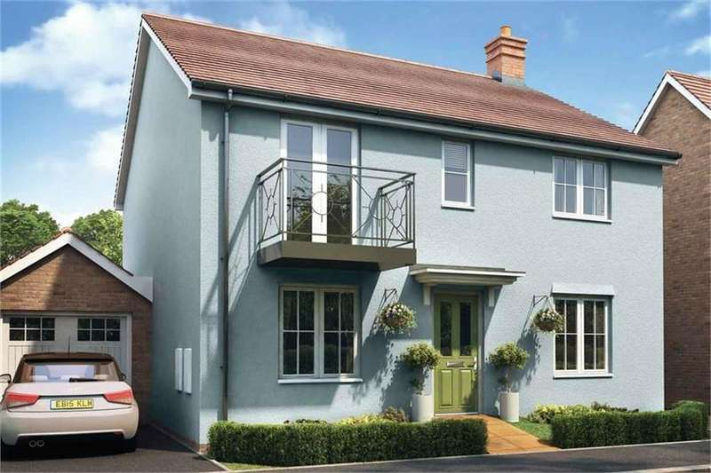 4 Bedrooms Detached House for sale in The Thornford, Hamford Park, WALTON ON THE NAZE