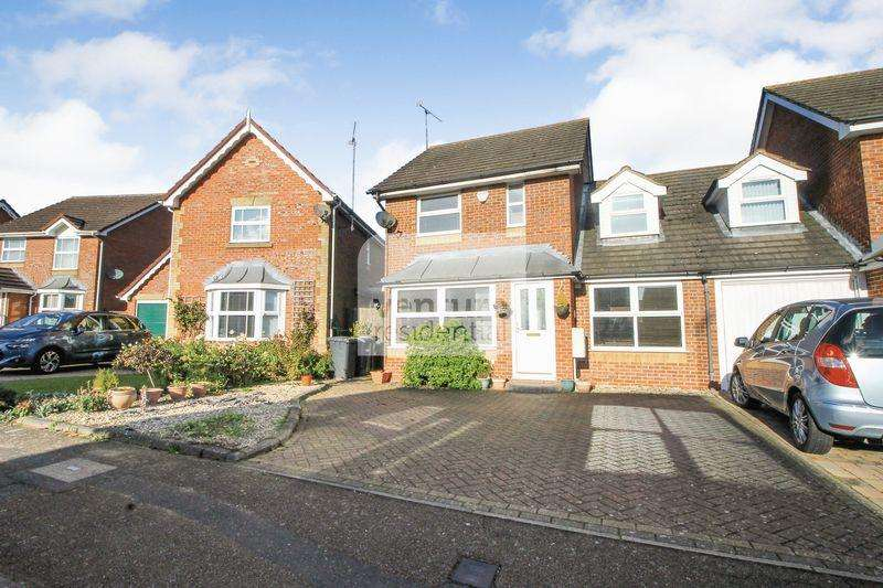 4 Bedrooms Detached House for sale in Chard Drive, Luton