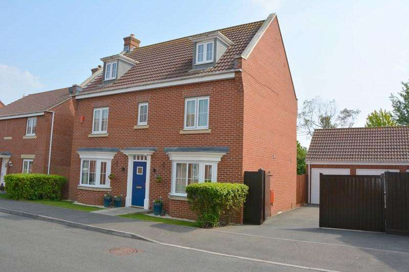 5 Bedrooms Detached House for sale in Edith Close, Burnham-On-Sea