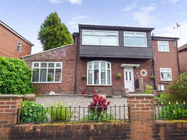 4 Bedrooms Detached House for sale in Greenside Lane, Droylsden, Manchester