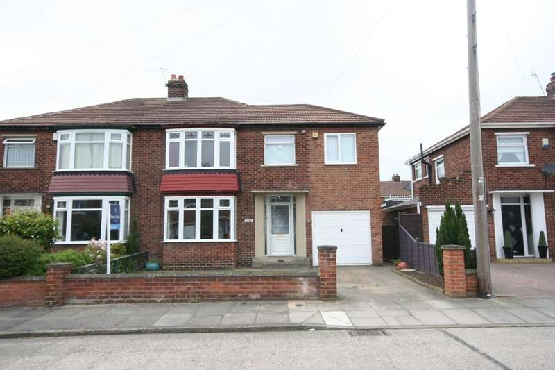 4 Bedrooms Semi Detached House for sale in Berberis Grove, Fairfield, Stockton-On-Tees, TS19