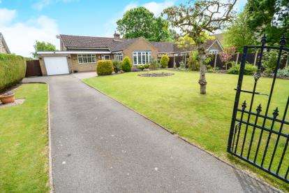 3 Bedrooms Bungalow for sale in Church Drive, Norton Disney, Lincoln, Lincolnshire