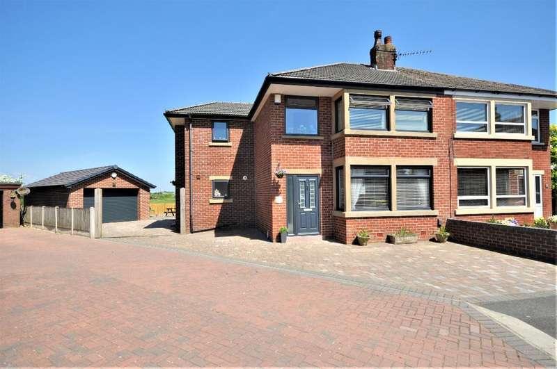 4 Bedrooms Semi Detached House for sale in Vale Royal, Kirkham, Preston, Lancashire, PR4 2YU