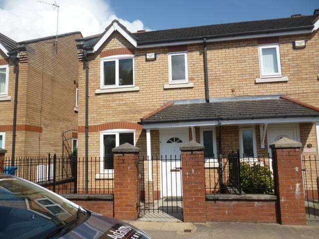 3 Bedrooms Semi Detached House for sale in Hulme, Manchester M15