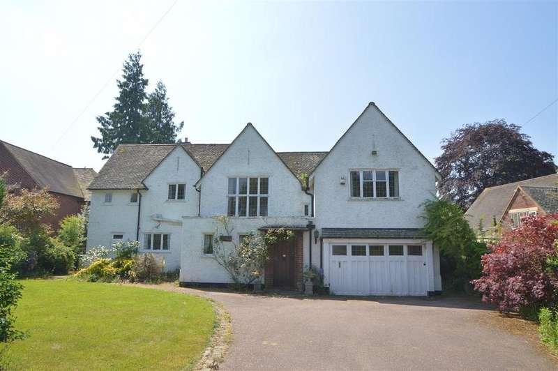 5 Bedrooms Detached House for sale in Ridgebourne House, 33 Ridgebourne Road, Shrewsbury SY3 9AB