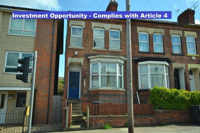 4 Bedrooms Property for sale in Welford Road, Clarendon Park, Leicester, Leicestershire