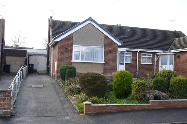 4 Bedrooms Semi Detached Bungalow for sale in Southleigh Grove, Market Harborough, Leicestershire