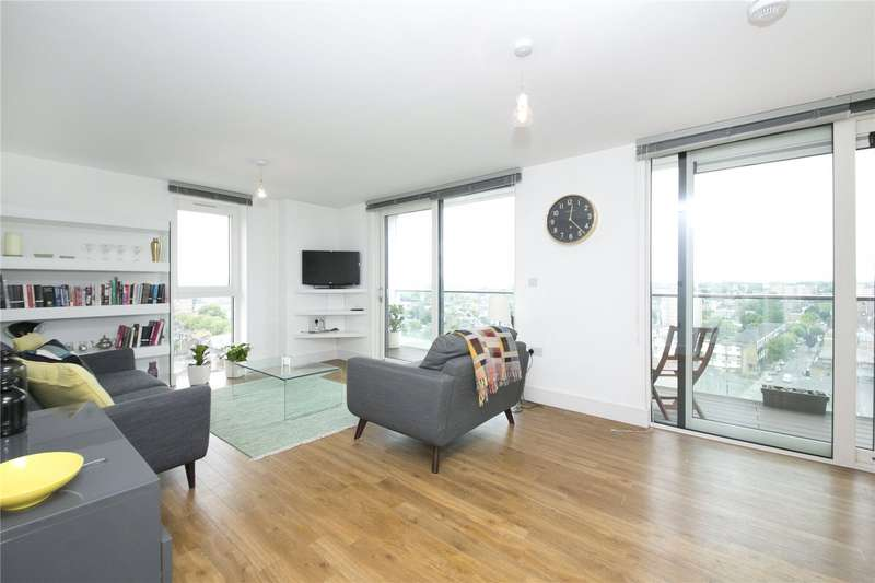 2 Bedrooms Flat for sale in Sledge Tower, Dalston Sq, E8