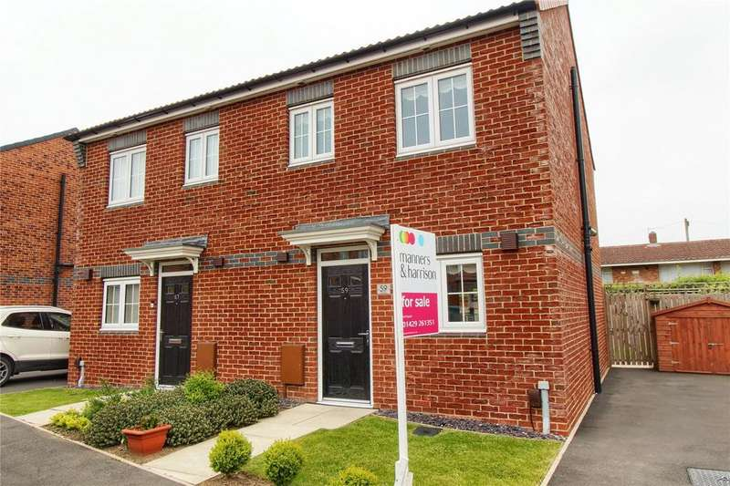 2 Bedrooms Semi Detached House for sale in Westfields, Hartlepool