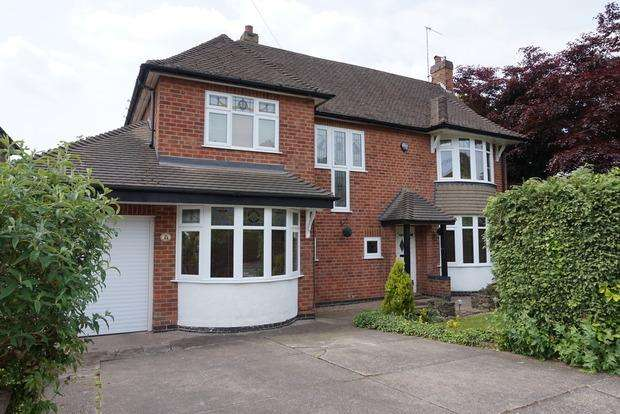 4 Bedrooms Detached House for sale in Parkside Gardens, Nottingham, NG8