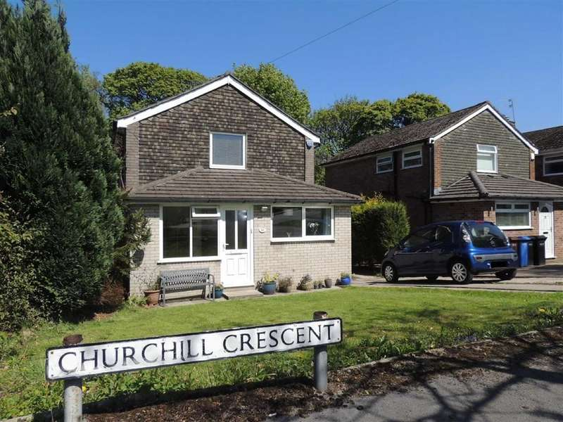 3 Bedrooms Detached House for sale in Churchill Crescent, Marple, Stockport
