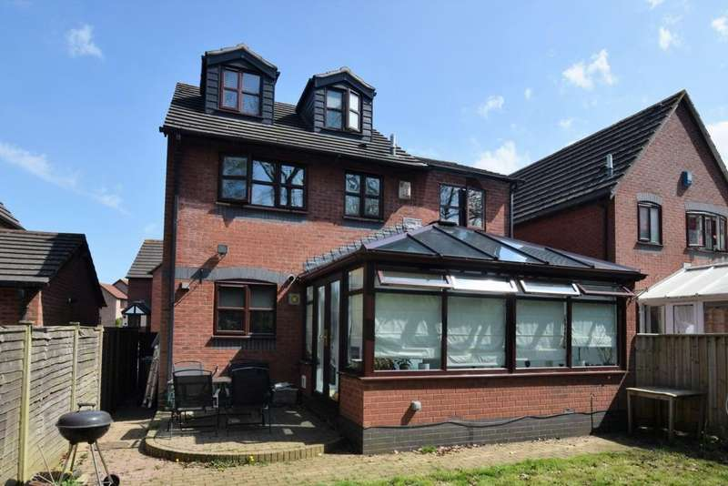 4 Bedrooms House for sale in Gittisham Close, Barton Grange, EX1
