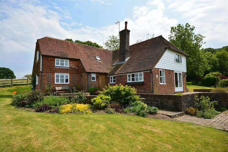 4 Bedrooms Detached House for sale in Rock Hill, Staplecross,