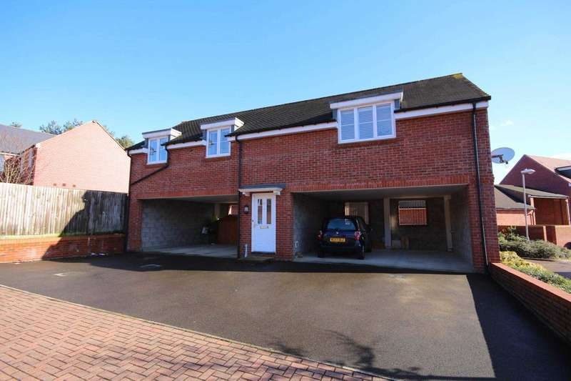2 Bedrooms Coach House Flat for sale in Spoonbill Rise, Jennett`s Park