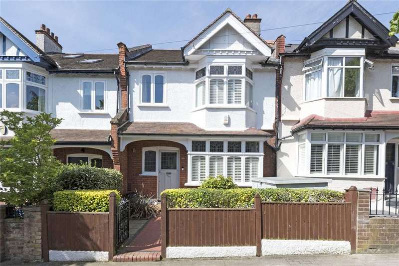 4 Bedrooms Terraced House for sale in Badminton Road, London, SW12