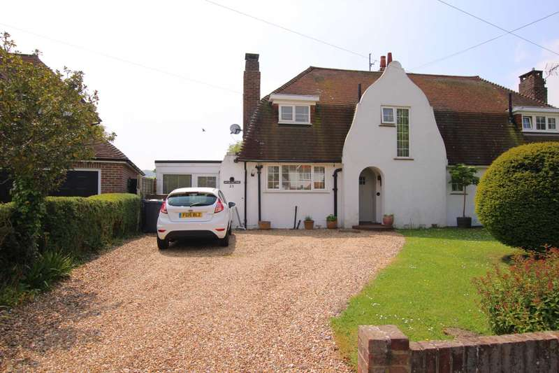 3 Bedrooms Semi Detached House for sale in Wannock Lane, Eastbourne, BN20 9SB
