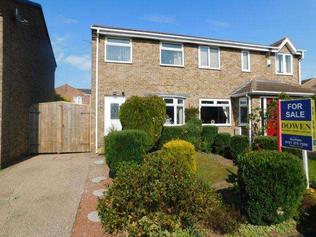 2 Bedrooms Semi Detached House for sale in SCARDALE WAY, BELMONT, DURHAM CITY