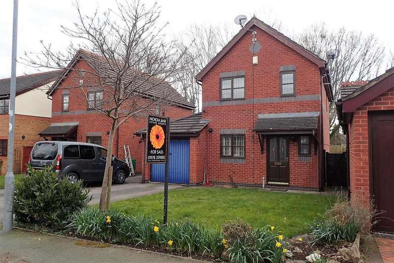 3 Bedrooms Detached House for sale in Wilkinson Drive, Bersham, Wrexham