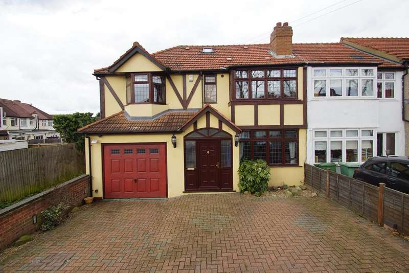 5 Bedrooms End Of Terrace House for sale in Sycamore Avenue, Sidcup, DA15