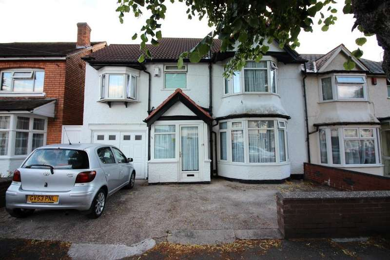 5 Bedrooms Semi Detached House for sale in Tetley Road, Sparkhill, Birmingham B11