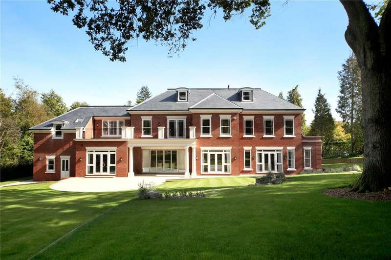 6 Bedrooms Detached House for sale in Titlarks Hill, Sunningdale, Berkshire