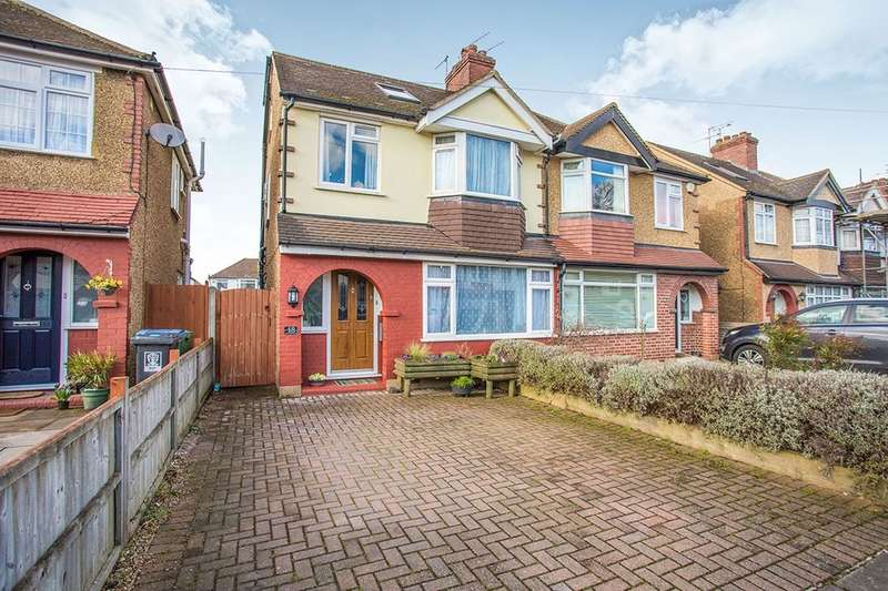 4 Bedrooms Semi Detached House for sale in Kingswood Road, WATFORD, WD25