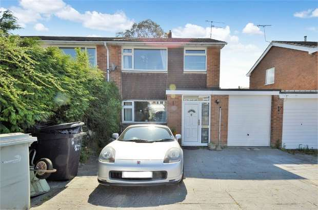 3 Bedrooms Semi Detached House for sale in Melksham Close, Macclesfield, Cheshire