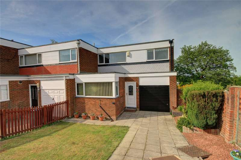 3 Bedrooms End Of Terrace House for sale in St. Heliers Way, Stanley, County Durham, DH9